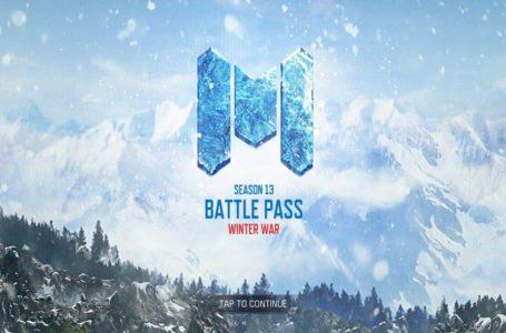 Call of Duty: Mobile Season 13 free and premium Battle Pass rewards