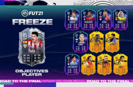 FIFA 21: How to complete FUT Freeze Ander Capa Rodriguez Objectives challenge