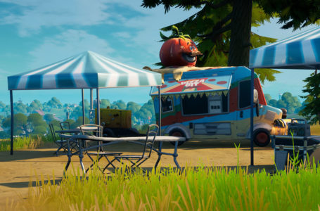 Where to Ignite and Dance at a Tomato Shrine near Pizza Pit or Pizza Food Truck in Fortnite