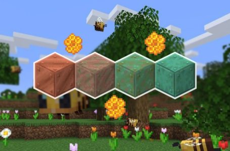 How to wax copper to prevent oxidizing in the Minecraft Caves & Cliffs Update