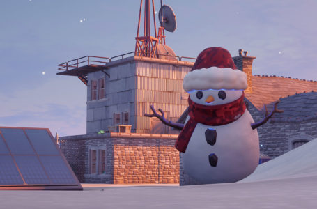 Where to find a Sneaky Snowman in Fortnite Operation Snowdown