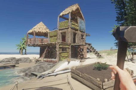 How to get a container panel wall in Stranded Deep