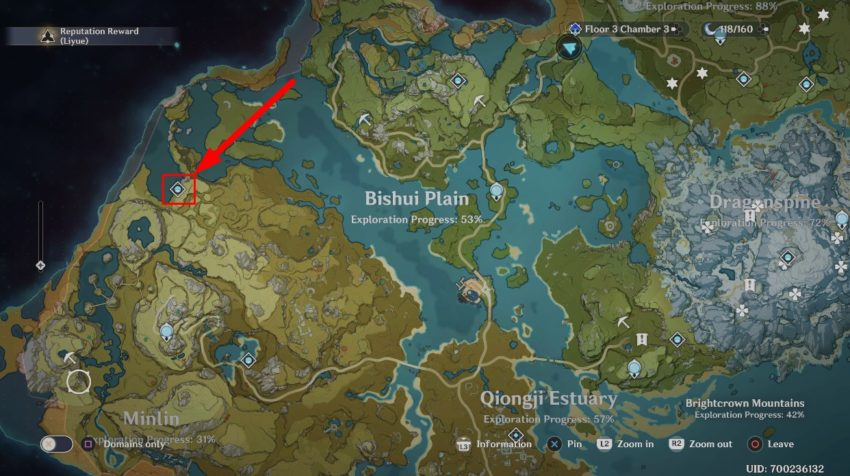 Clear Pool and  Mountain Cavern Location