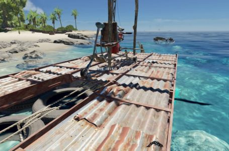 How to make a raft in Stranded Deep