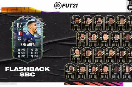FIFA 21: How to complete Flashback Hatem Ben Arfa SBC