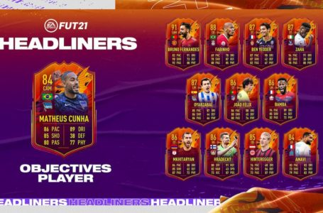 FIFA 21: How to complete FUT Headliners Matheus Cunha Objectives challenge