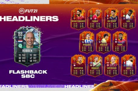 FIFA 21: How to complete Flashback Arjen Robben SBC