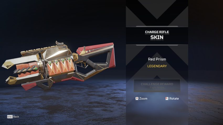 Red Prism Charge Rifle skin