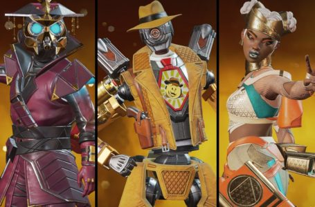 All Legend skins for the Fight Night Collection Event in Apex Legends