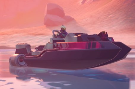 Where to quickly destroy motorboats in Fortnite Chapter 2 Season 5
