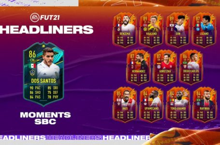 FIFA 21: How to complete Moments Jonathan dos Santos SBC – Requirements and solutions