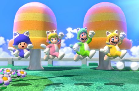 Cat Mario and Cat Peach Amiibo coming with Super Mario 3D World + Bowser's Fury