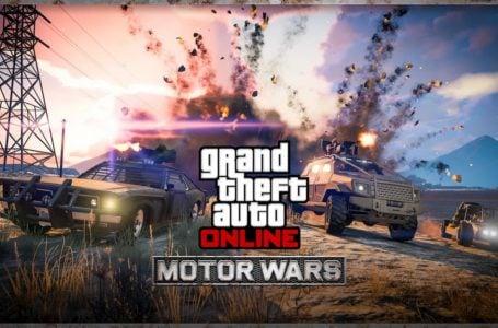 How to start Motor Wars in GTA Online
