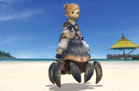 Where to get the Big Shell crab mount in Final Fantasy XIV