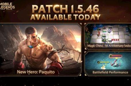 Mobile Legends: Bang Bang 1.5.46 update APK download link for Android