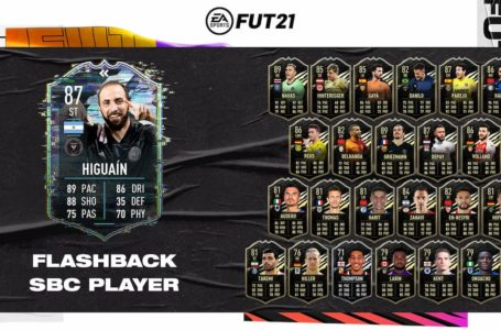 FIFA 21: How to complete Flashback Gonzalo Higuain SBC