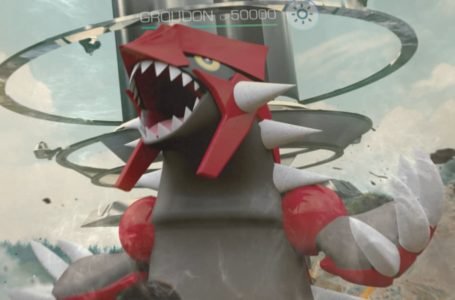 Best moveset for Groudon in Pokémon Go
