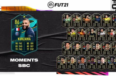 FIFA 21: How to complete Player Moments Layvin Kurzawa SBC – Requirements and solutions
