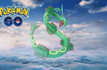 Is Rayquaza good in Pokémon Go?