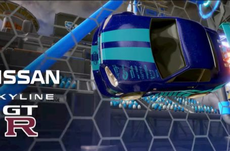 How to get the Nissan Skyline GT-R in Rocket League