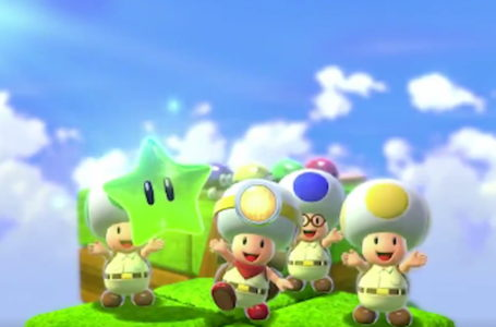 Super Mario 3D World will bring four-player Captain Toad multiplayer to Switch