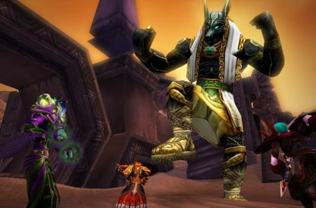 How to get the Ruby or Sapphire Qiraji mount during Call of the Scarab in World of Warcraft: Shadowlands