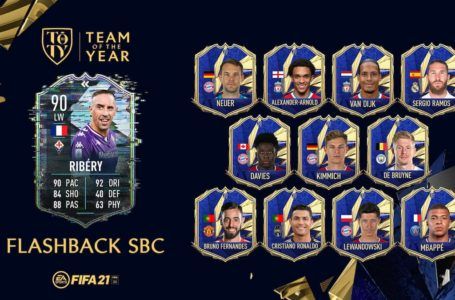 FIFA 21: How to complete TOTY Flashback Franck Ribery SBC