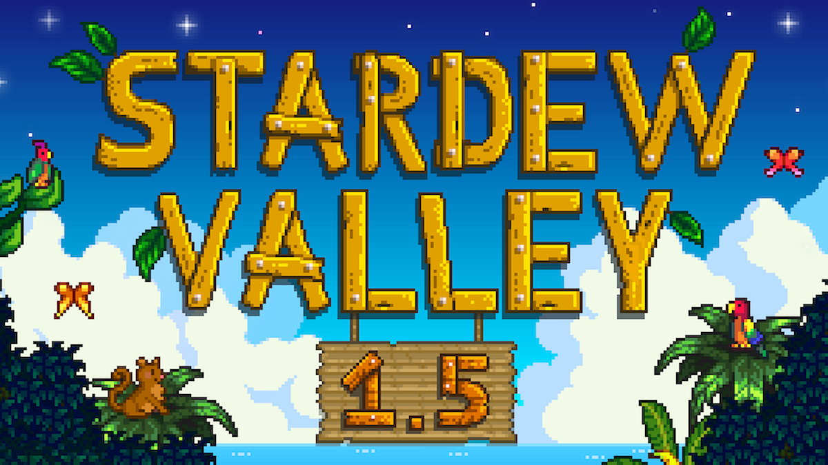 Stardew Valley 1.5 console update is undergoing ...