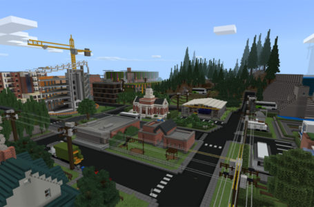 Mojang has turned Microsoft's sustainability report into a downloadable interactive map