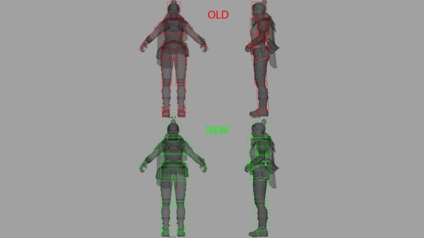 Wraith hitbox changes