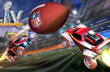 How to unlock every NFL item during Rocket League's NFL Super Bowl LV Celebration