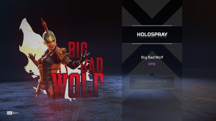 Big Bad Wolf (Loba)