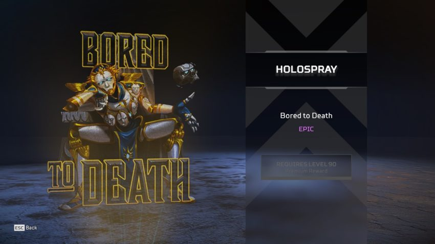 Bored to Death (Revenant)