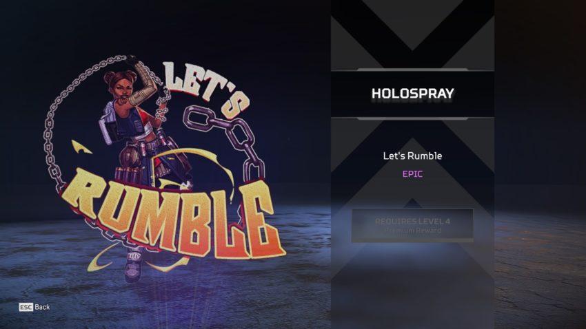 Let's Rumble (Lifeline)