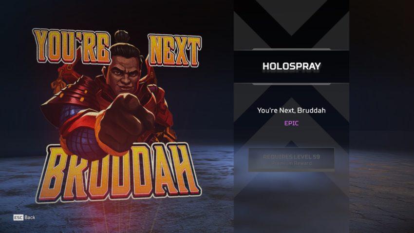 You're Next, Bruddah (Gibraltar)