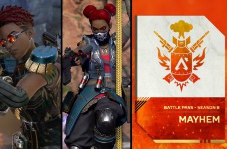 The best rewards in Apex Legends Season 8: Mayhem premium Battle Pass
