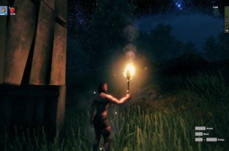 How to craft a torch in Valheim