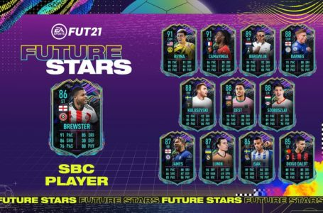 FIFA 21: How to complete Future Stars Rhian Brewster SBC – Requirements and solutions