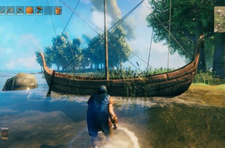 Sailing and boat controls in Valheim