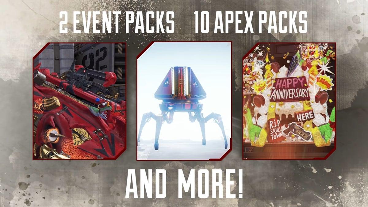 Event Pack rewards