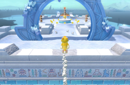 All Slipskate Slope Cat Shine Shards locations in Bowser's Fury