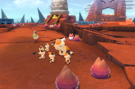 5 Lost Kittens Locations at Wasteland Giga Bell in Bowser's Fury