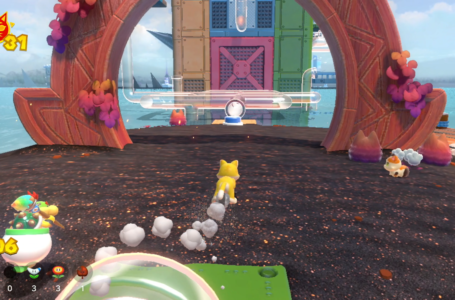 All Pipe Path Tower Cat Shine Shards locations in Bowser's Fury