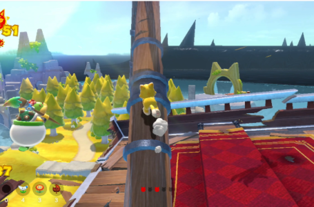 All Fur Step Island Cat Shine Shards locations in Bowser's Fury