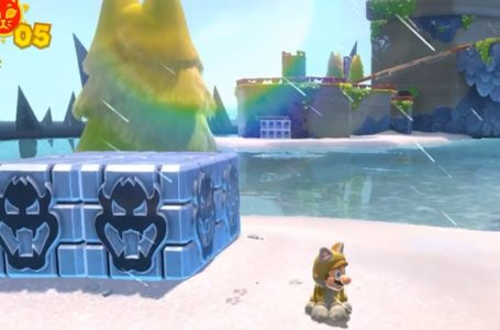 How to destroy Bowser blocks in Super Mario 3D World + Bowser's Fury