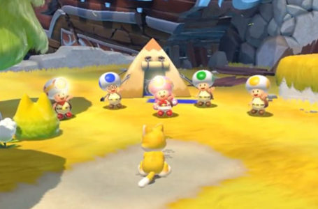 Where to find the Toad Brigade in Super Mario 3D World + Bowser's Fury