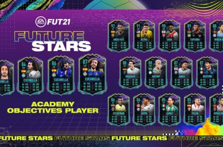 FIFA 21: How to complete FUT Future Stars Academy Marc Cucurella Objectives challenge