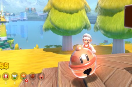 What is the pink Lucky Bell in Super Mario 3D World + Bowser's Fury?