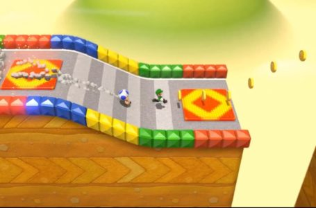 The three green star locations for World 3-6, Mount Must Dash in Super Mario 3D World + Bowser's Fury