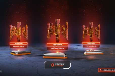 How to get Heirloom Shards in Apex Legends